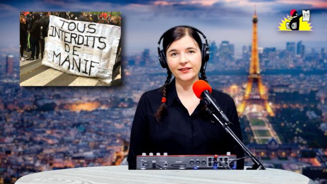 Le JT de la Parisienne Libérée. «Tremblez, l'ultragauche revient!»