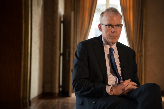 Bill McKibben, septembre 2015 (NnoMan, Collectif ŒIL).