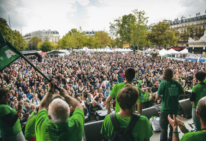 Concert d'Alternatiba place de la République, le 26 septembre 2015 (Jérémie Wach-Chastel/Alternatiba).
