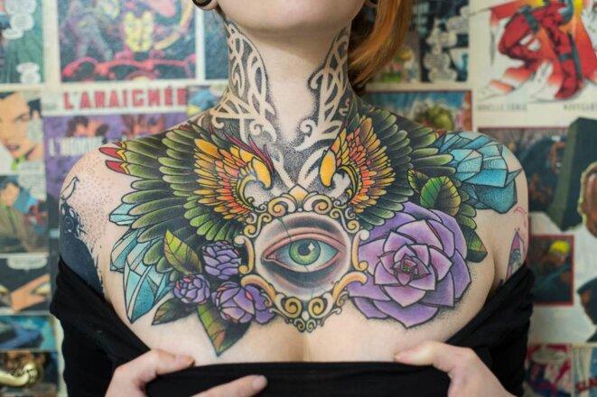 « Je suis une toile pour mon tatoueur »