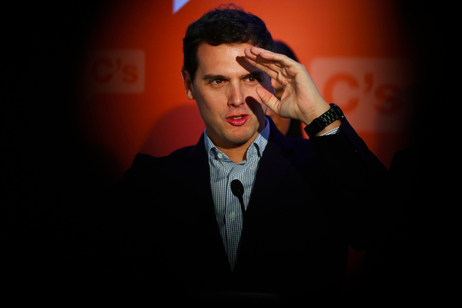 Albert Rivera le 2 mars 2015 à Madrid. © Susana Vera. Reuters.