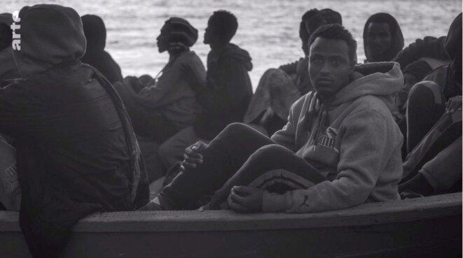 «Mare Amarum»: les migrants, le photographe et l'«Aquarius»