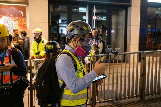 Hong Kong Free Press, des journalistes en première ligne de la contestation