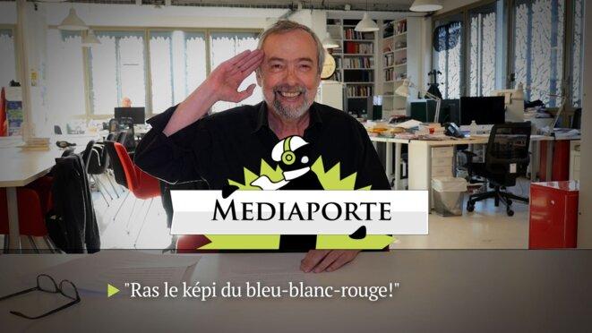 MediaPorte: «Remballez votre merchandising tricolore»
