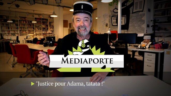MediaPorte: «Justice pour Adama, tatata»