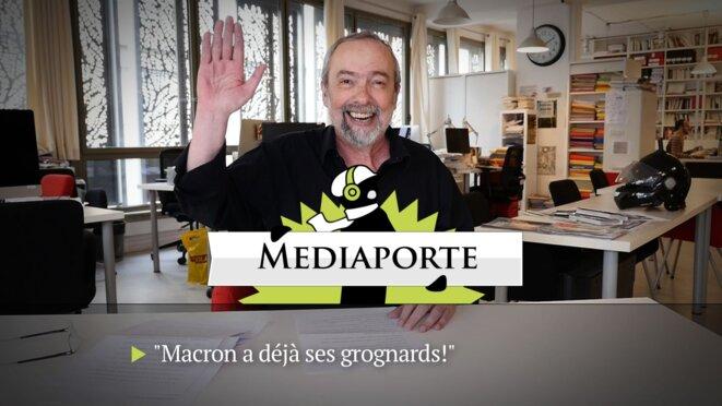 MediaPorte: «Macron a déjà ses grognards»
