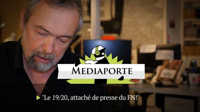 MediaPorte: «Le 19/20, attaché de presse du FN»