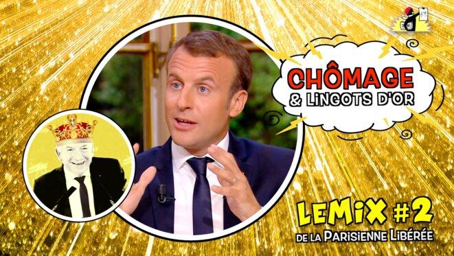 La Parisienne Libérée: «Chômage et lingots d'or»