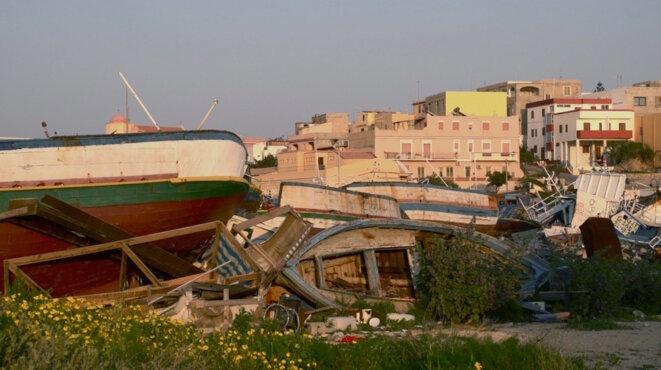 «Mare Magnum», la conquête du pouvoir sur l'île de Lampedusa