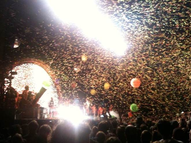 The Flaming Lips dimanche. © M Turchi