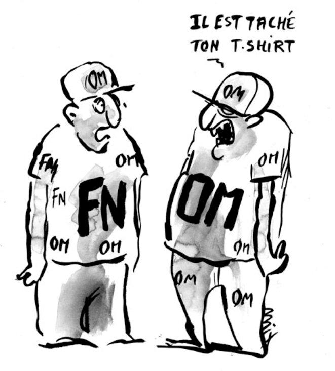 Il est taché ton T shirt © Moix