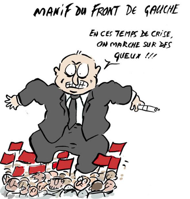 Manif Fde Gauche © Moix