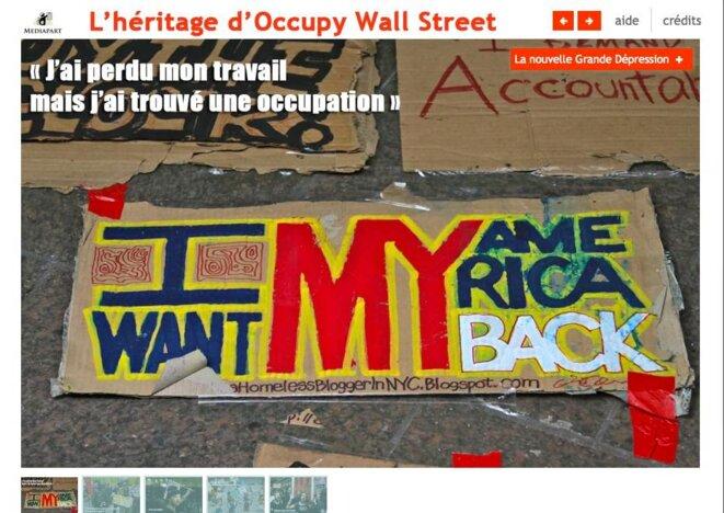 Webdocu : Occupy Wall Street