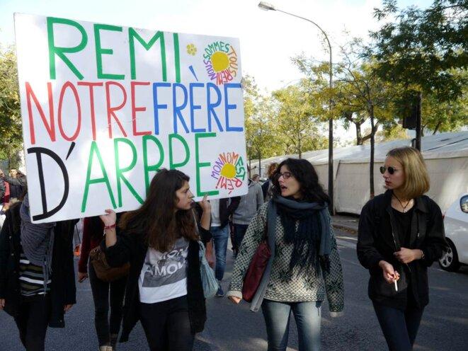«Quand la police tue, les jeunes sont dans la rue»