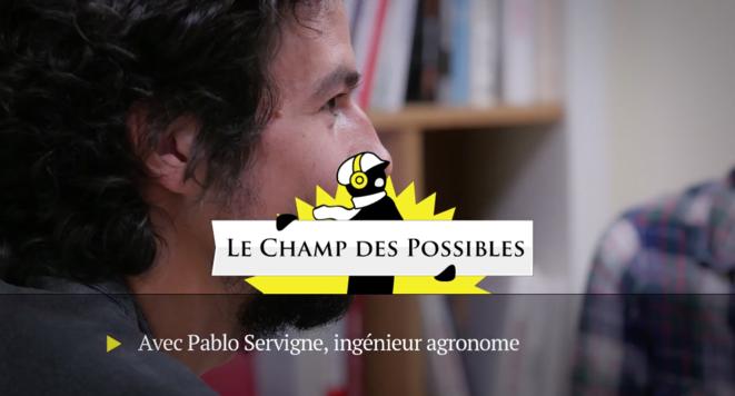 Pablo Servigne: penser l'effondrement de notre monde