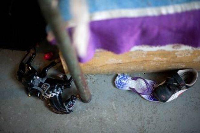 Samedi 11 septembre 2010 à Montreuil (93). © © Céline Gaille. http://lapreneusedetemps.blogspot.com/2010/09/liberte-de-circulation.html