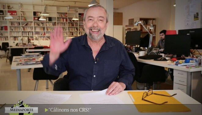 MediaPorte: «Câlinons nos CRS!»