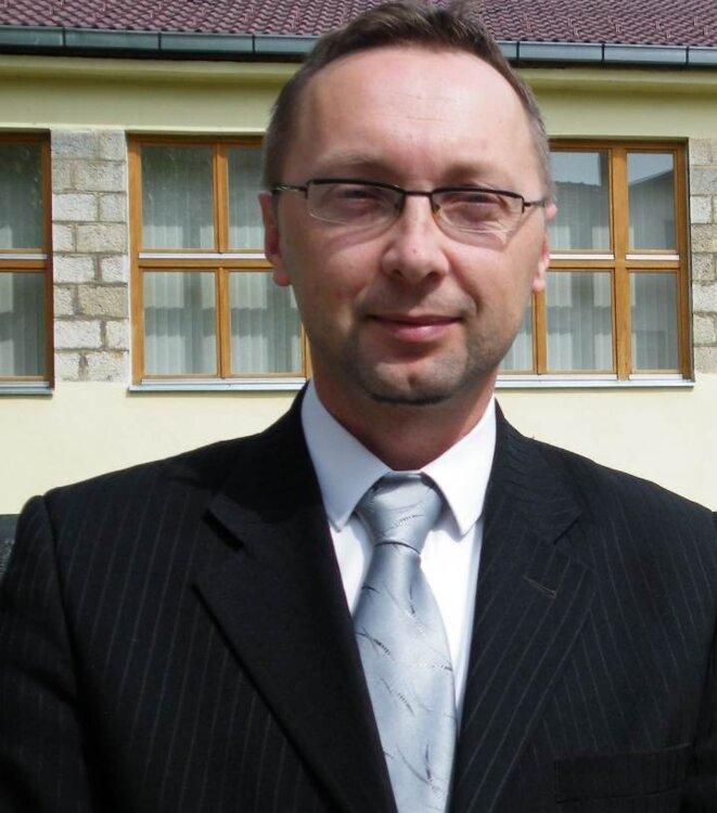 Ermin Hajder, maire de Bosanski-Petrovac © Maryline Dumas