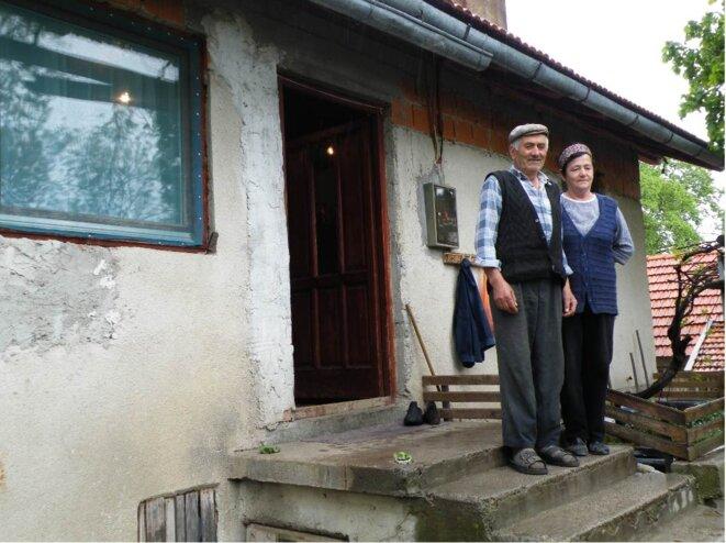 Nikola et Milka, l'oncle et la tante de Nataša © Maryline Dumas
