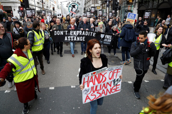 Procès de Julian Assange: veillée d'armes à Londres