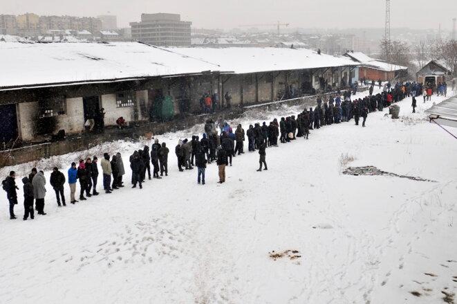 «Dans le pire des camps de migrants en Europe»
