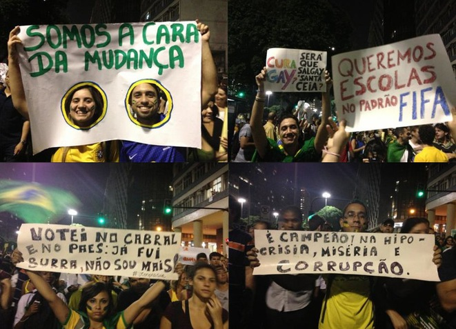 Rio de Janeiro: les mots de la colère