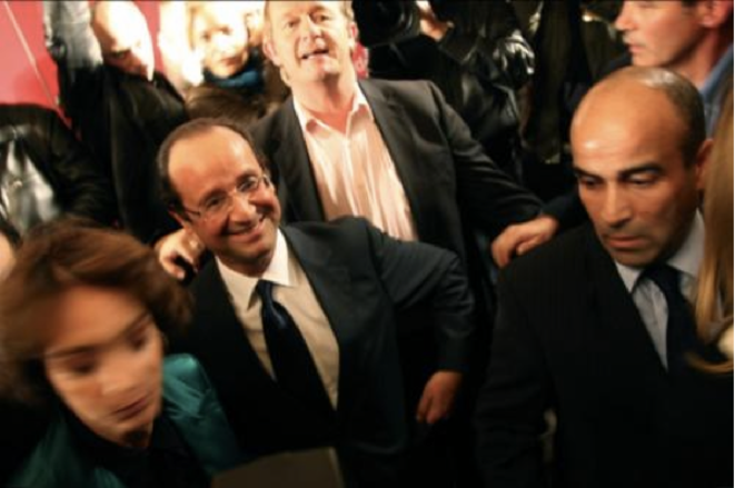 François Hollande, le 9 octobre 2011