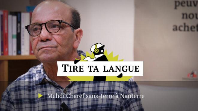 Mehdi Charef, sans-terre à Nanterre