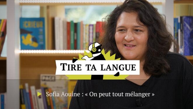 Sofia Aouine, primo-romancière: «On peut tout mélanger»