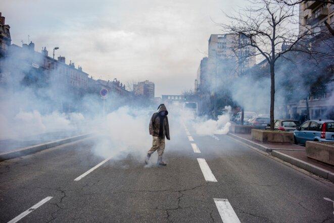 A Toulouse, sous les lacrymos de la manif contre « les violences policières »