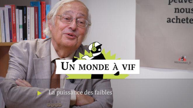 Bertrand Badie: «La puissance des faibles»