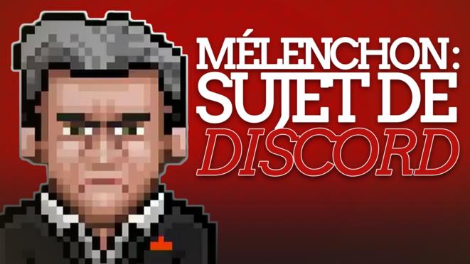 Mélenchon, sujet de Discord