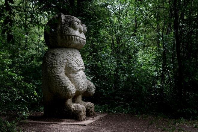 De l'art contemporain niché dans la nature