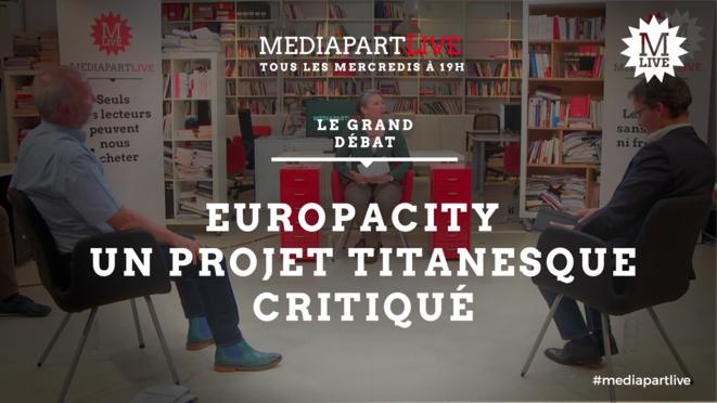 Le mégaprojet EuropaCity en débat