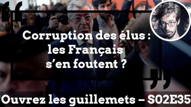 Usul. Corruption des élus: les Français s'en foutent?