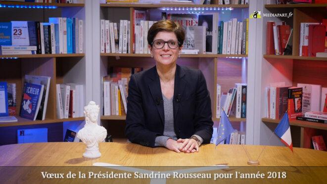 Les vœux de liberté de Sandrine Rousseau