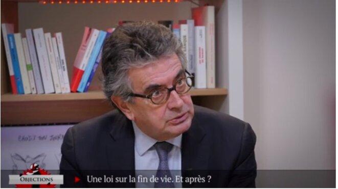 Alain Claeys (PS) : « En matière de fin de vie, il faut une loi en faveur des malades »