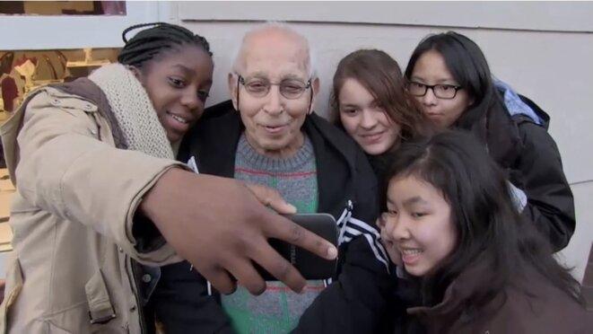 «Les collégiens et l'ancien combattant», formidable leçon de citoyenneté