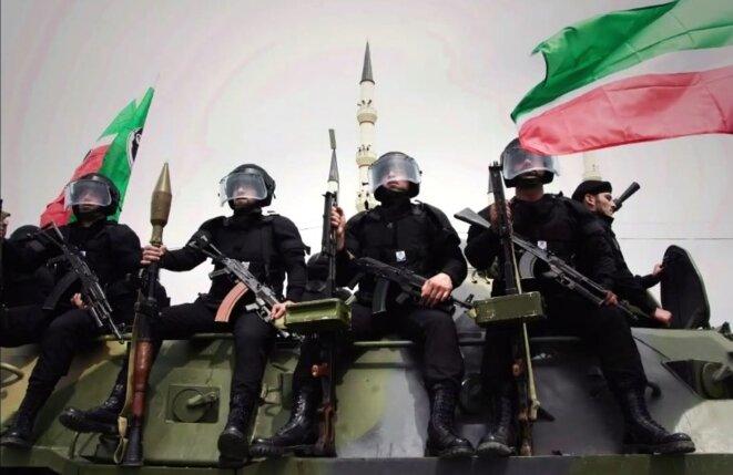 Grozny, derrière la façade russe