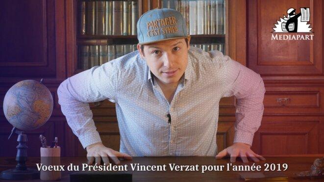 Les vœux de lucidité, solidarité et radicalité de Vincent Verzat