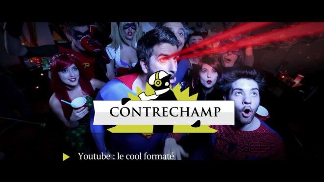 «Contrechamp»: YouTube ou le cool formaté
