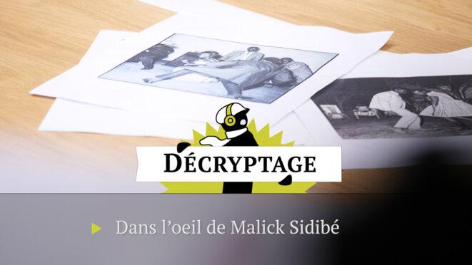 Dans l'œil du photographe Malick Sidibé