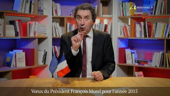 Les vœux de courage de François Morel
