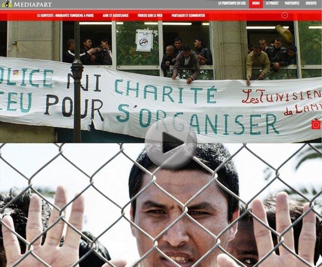 Tunisie: printemps en exil