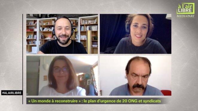 «A l'air libre»: plan d'urgence des ONG et syndicats, médecins syriens en Turquie, autonomie alimentaire