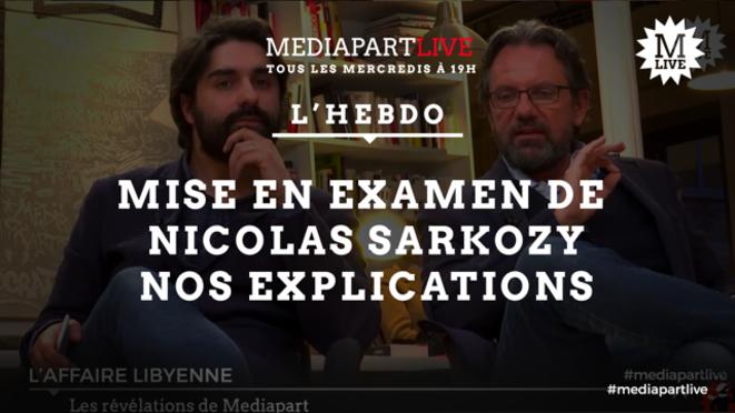 Sarkozy: nos explications et celles de Frédéric Lefebvre