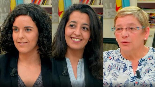 LFI, EE-LV, PCF: trois candidates défendent leur programme pour les européennes