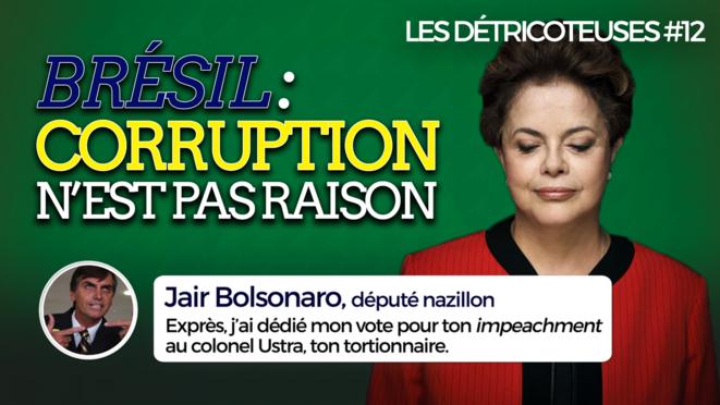 Brésil: le destitueur bientôt destitué?