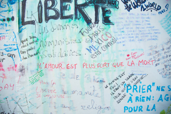 Paris, les jours d'après
