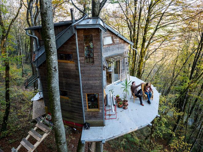 La maison dans les arbres suspendue aux décisions des juges